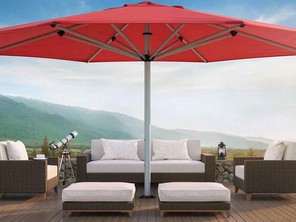 Commercial-Centre-Pole-Umbrella-home-deck